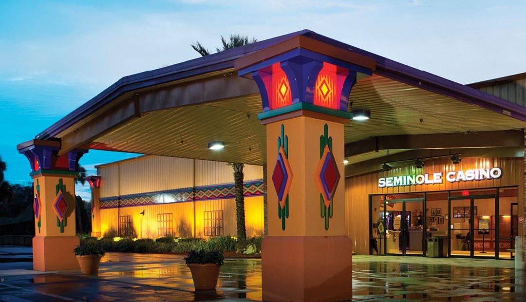 Seminole Casino front entrance